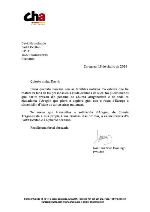 Carta pename Niza